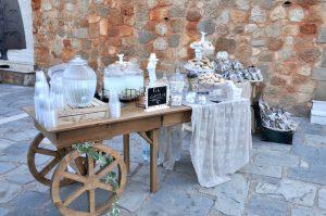 Erfrischungen bei einer Hochzeit in Griechenland