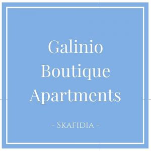 Galinio Boutique Apartments, Skafidia, Peloponnes, Griechenland auf Charming Family Escapes