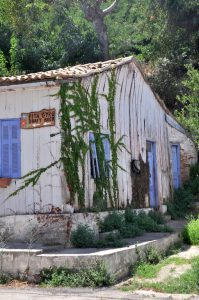 Haus in Katakolo, Peloponnes, Griechenland