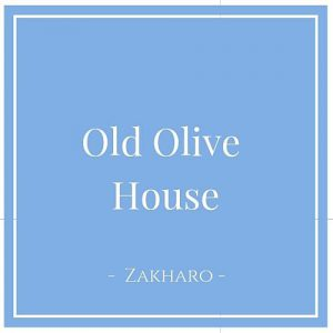 Old Olive House, Zakharo, Peloponnes, Griechenland auf Charming Family Escapes