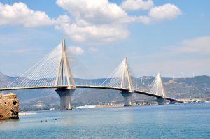 Rio-Andirrio-Brücke, Peloponnes, Griechenland