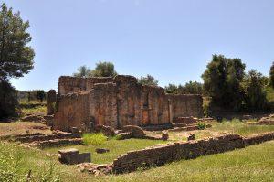 Ruinen in Olympia