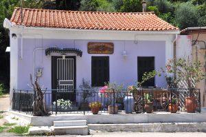 Schönes Haus in Katakolo, Peloponnes, Griechenland