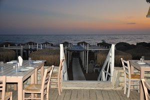 Strand von Kourouta, Peloponnes, Griechenland