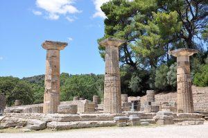 Tempel in Olympia