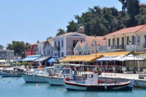 Hafen von Katakolo, Peloponnes, Griechenland