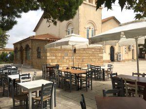 Restaurant in Dounaika, Peloponnes, Griechenland