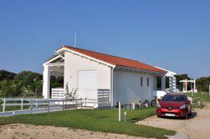 White Villas - Beach Villa Rückansicht