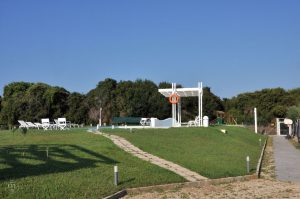 White Villas - Blick auf den Pool