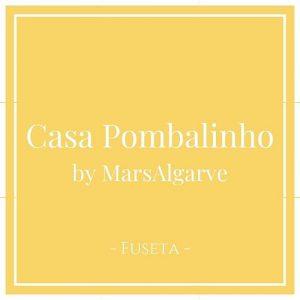 Casa Pombalinho by MarsAlgarve, Fuseta, Algarve, Portugal auf Charming Family Escapes