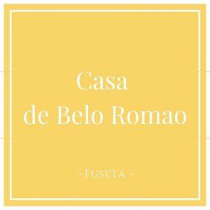 Casa de Belo Romao, Fuseta, Moncarapacho, Portugal auf Charming Family Escapes