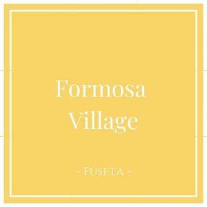 Formosa Village, Fuseta, Algarve, Portugal auf Charming Family Escapes