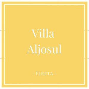Villa Aljosul, Fuseta, Moncarapacho, Portugal auf Charming Family Escapes