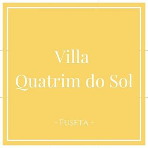 Villa Quatrim do Sol, Fuseta, Moncarapacho, Portugal auf Charming Family Escapes