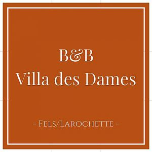 B&B Villa des Dames, Fels, Larochette, Luxemburg, auf Charming Family Escapes