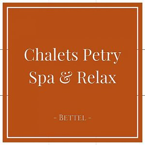 Chalets Petry Spa und Relax, Bettel, Luxemburg, auf Charming Family Escapes