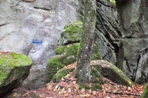 Das Labyrinth auf dem Müllerthal Trail, Luxemburg