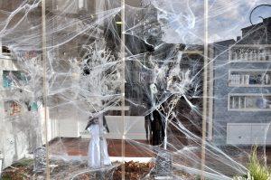 Deko zu Halloween in Clervaux