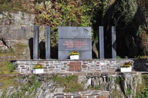 Gedenktafel in Clervaux