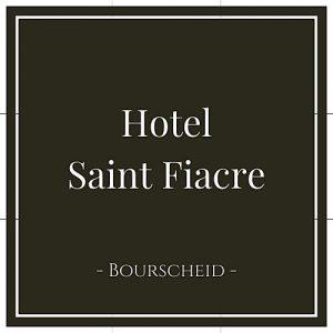 Hotel Saint Fiancre, Bourscheid, Luxemburg, auf Charming Family Escapes