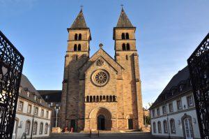 Sankt Willibrordus Basilika in Echternach, Luxemburg