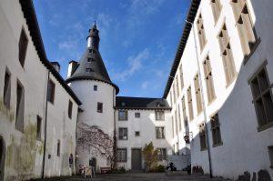 Schlosshof von Clervaux