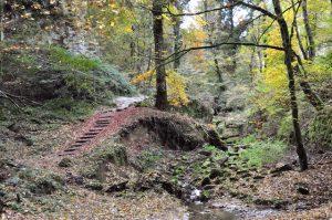 Unterwegs auf dem Müllerthal Trail, Luxemburg