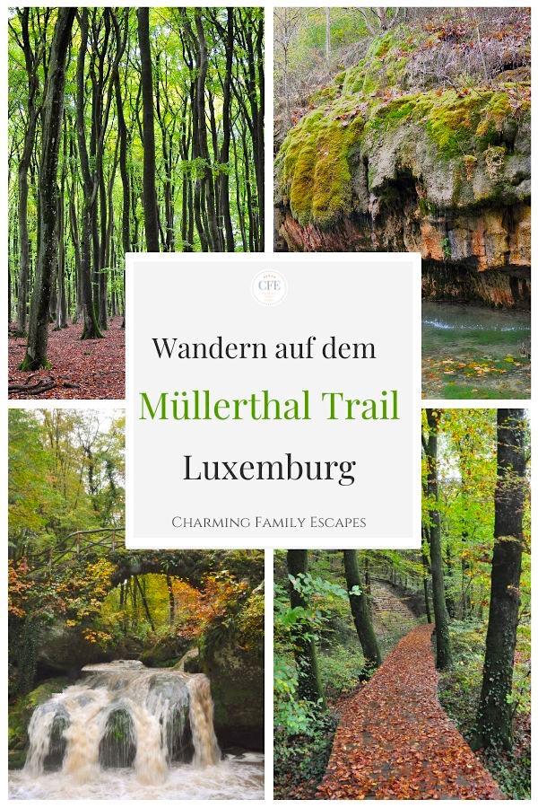 Wandern auf dem Müllerthal Trail, Luxemburg