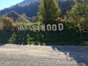 Wandern im Montafon - Schriftzug Harleywood