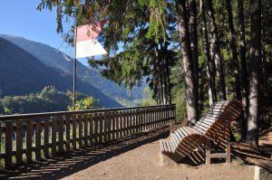 Wandern im Montafon mit Kindern - Aussichtspunkt Landschrofen-Känzeli