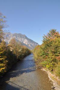 Wandern im Montafon mit Kindern - der Fluss Ill