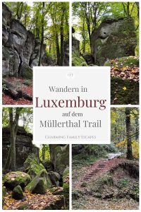 Wandern in Luxemburg auf dem Müllerthal Trail, Charming Family Escapes