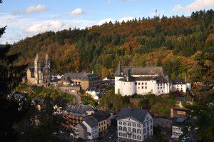 Der märchenhafte Ort Clervaux