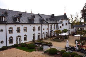 Chateau d'Urspelt, Blick vom Sonnendeck