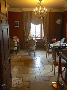 Chateau d'Urspelt, Frühstücksraum
