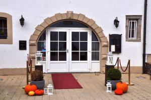 Chateau d'Urspelt, Restaurant Eingang