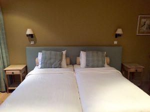Chateau d'Urspelt, Zimmer mit zwei Betten