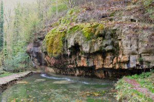 Kalktuffquelle am Müllerthal Trail, Luxemburg