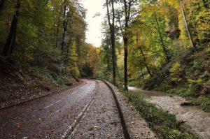 Umleitung auf dem Müllerthal Trail, Luxemburg