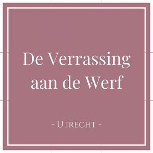 De Verrassing aan de Werf, Utrecht, Niederlande