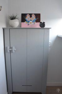Het Melkjhuisje, Noordwijk, Schrank im dritten Schlafzimmer