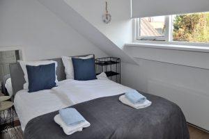 Het Melkjhuisje, Noordwijk, zweits Schlafzimmer
