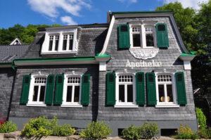 Alte Apotheke in Solingen Burg
