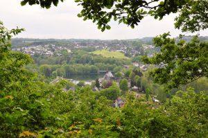 Blick auf Beyenburg und Umgebung