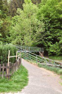 Brücke über die Wupper in Beyenburg