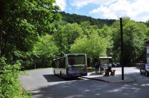 Bushaltestelle am Müngstener Brückenpark