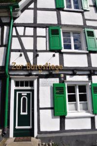 Hotel Zur Burgstiege in Solingen Burg