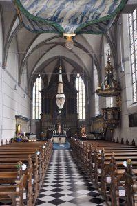 Innenansicht Klosterkirche Maria Magdalena, Beyenburg