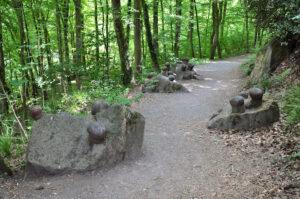 Pilzköpfe im Müngstener Brückenpark