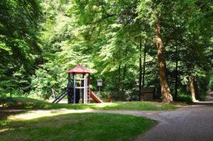 Spielplatz im Park Gräfrather Heide in Solingen